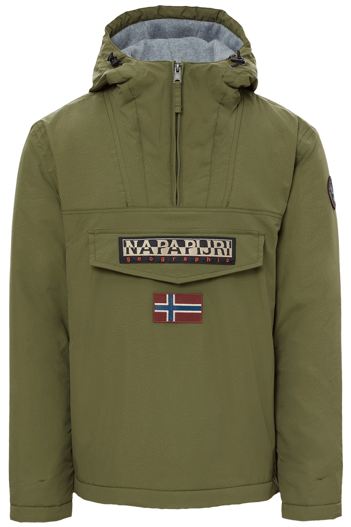 Jacket Rainforest Pockets Green Napapijri – 02
