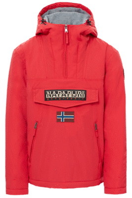 Jacket Rainforest Pockets Red Napapijri – 01
