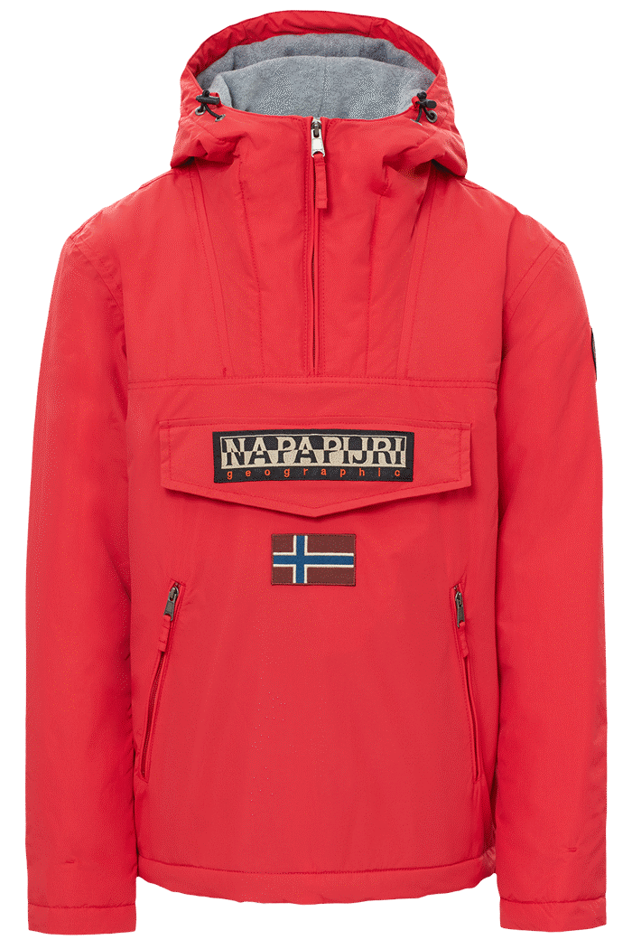 Jacket Rainforest Pockets Rojo Napapijri – 01