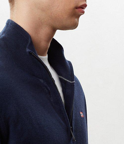 Maglione con zip Damavand-