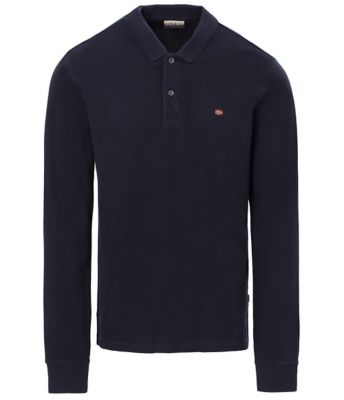 Long sleeve polo Erthow Logo | Napapijri