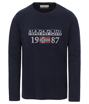 Long sleeves t-shirt Solin | Napapijri