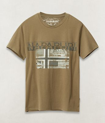 Short sleeve t-shirt Sawy | Napapijri