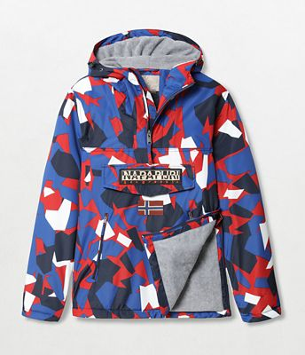 Jacket Rainforest Winter Pocket Print | Napapijri