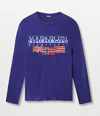 Long sleeve t-shirt Scott | Napapijri