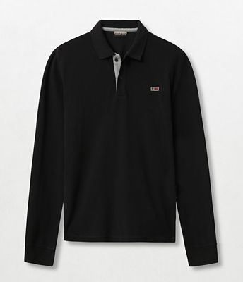 Long sleeve polo shirt Taly | Napapijri