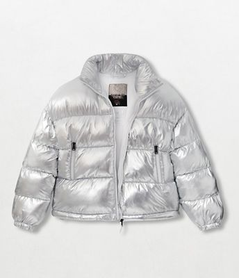 Superlight Puffer Jacket Art Metallic | Napapijri