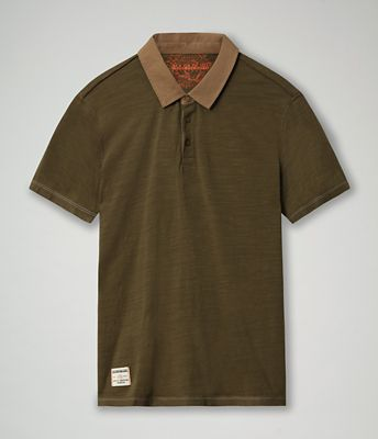Short sleeve polo shirt Elton Back | Napapijri
