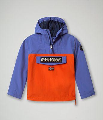 Anorak Rainforest Colour Block | Napapijri