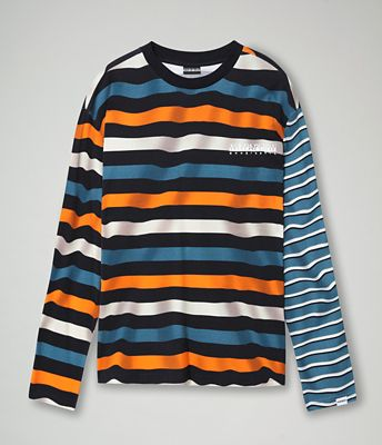 Long sleeve T-shirt Saty Stripe | Napapijri