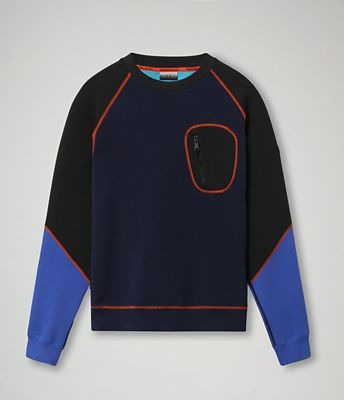 Sweat-shirt Bilbe color block | Napapijri