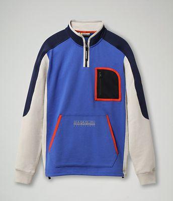 Zip Sweatshirt Bhell   Napapijri   official store