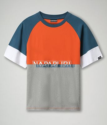 T-shirt Sire Colour Block | Napapijri