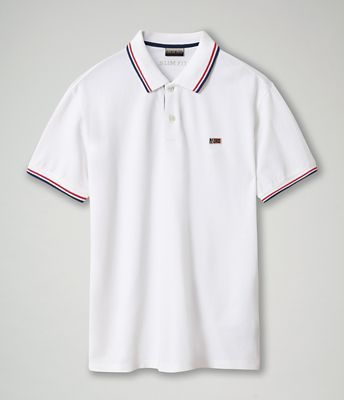 Short sleeve polo shirt Taly Stripe | Napapijri