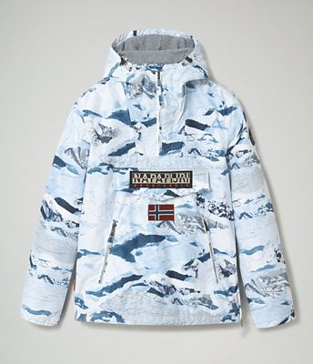 Jacket Rainforest Pocket Print | Napapijri