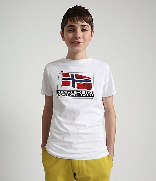 Kurzarm-T-Shirt Seji-