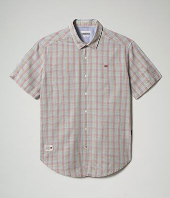 Short Sleeve Shirt Ging | Napapijri
