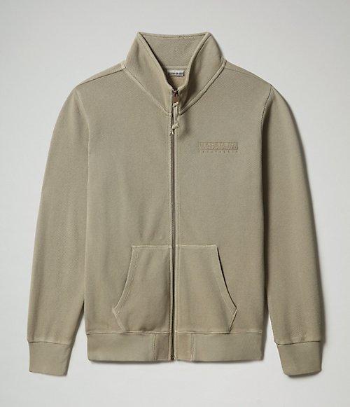 Pullover mit durchgehendem Reißverschluss Berial-