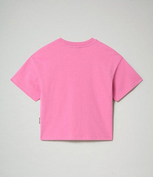 T-shirt corta a manica corta Box-