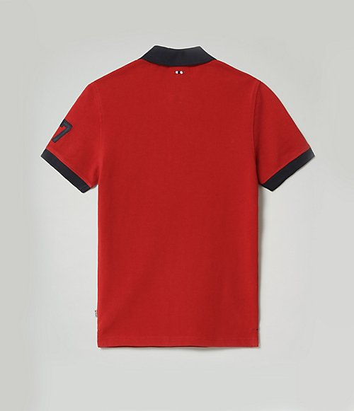 Poloshirt met korte mouwen Emil-