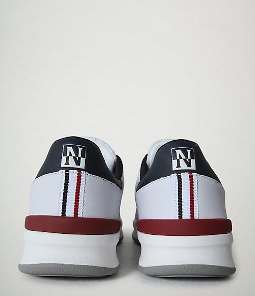 Sneaker Egret Leder-