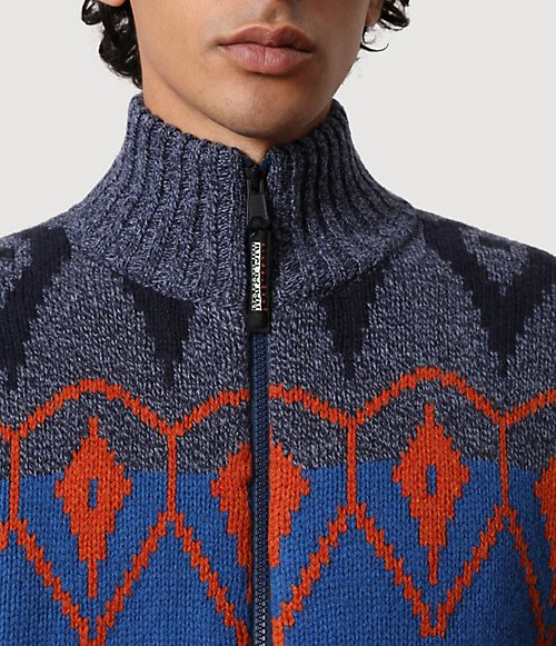 Maglione con zip Nepal-