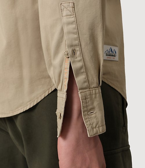 Camicia a manica lunga Garil-
