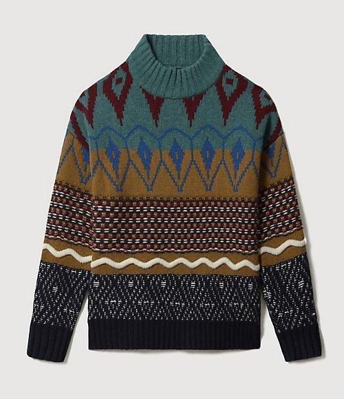Maglione dolcevita Nepal-