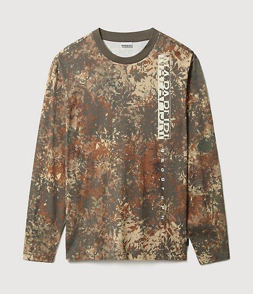 T-shirt a manica lunga Carpino-