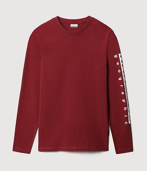T-shirt a manica lunga Sadas-