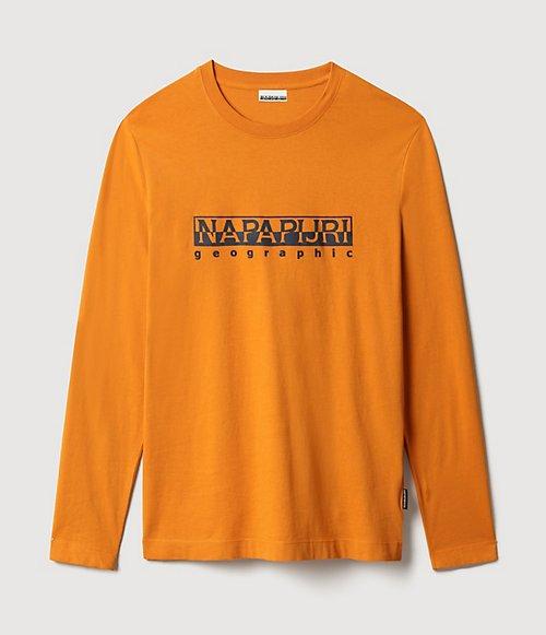 T-shirt a manica lunga Serber Print-