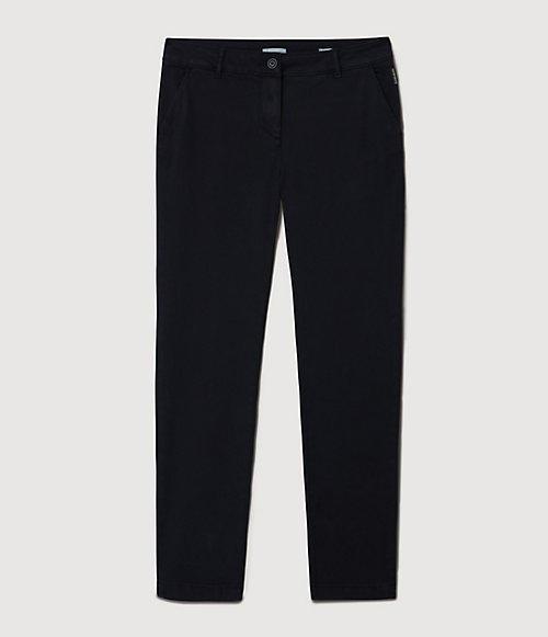 Pantaloni chino Meridian-