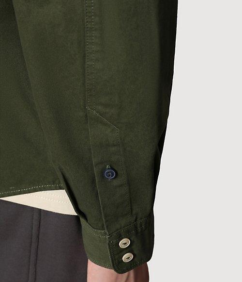 Camicia a manica lunga Gel-