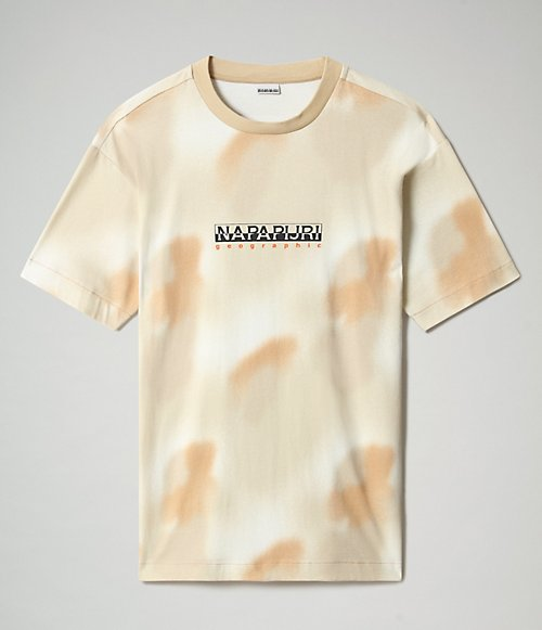 Kurzarm-T-Shirt Airbrush-
