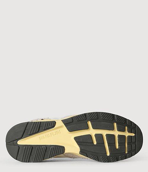 Sneaker Gray Pelle Scamosciata-