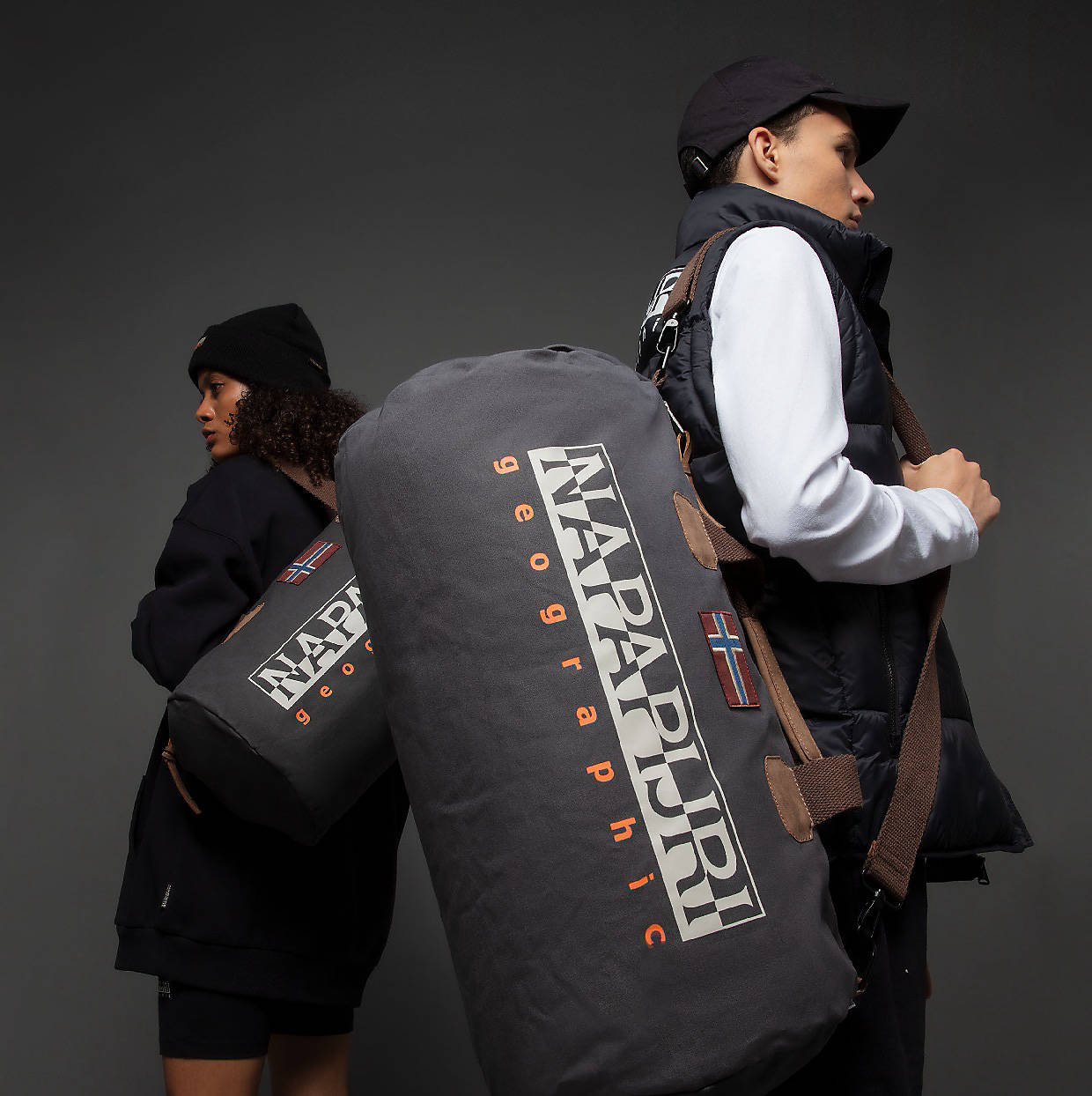 Backpacks and duffels