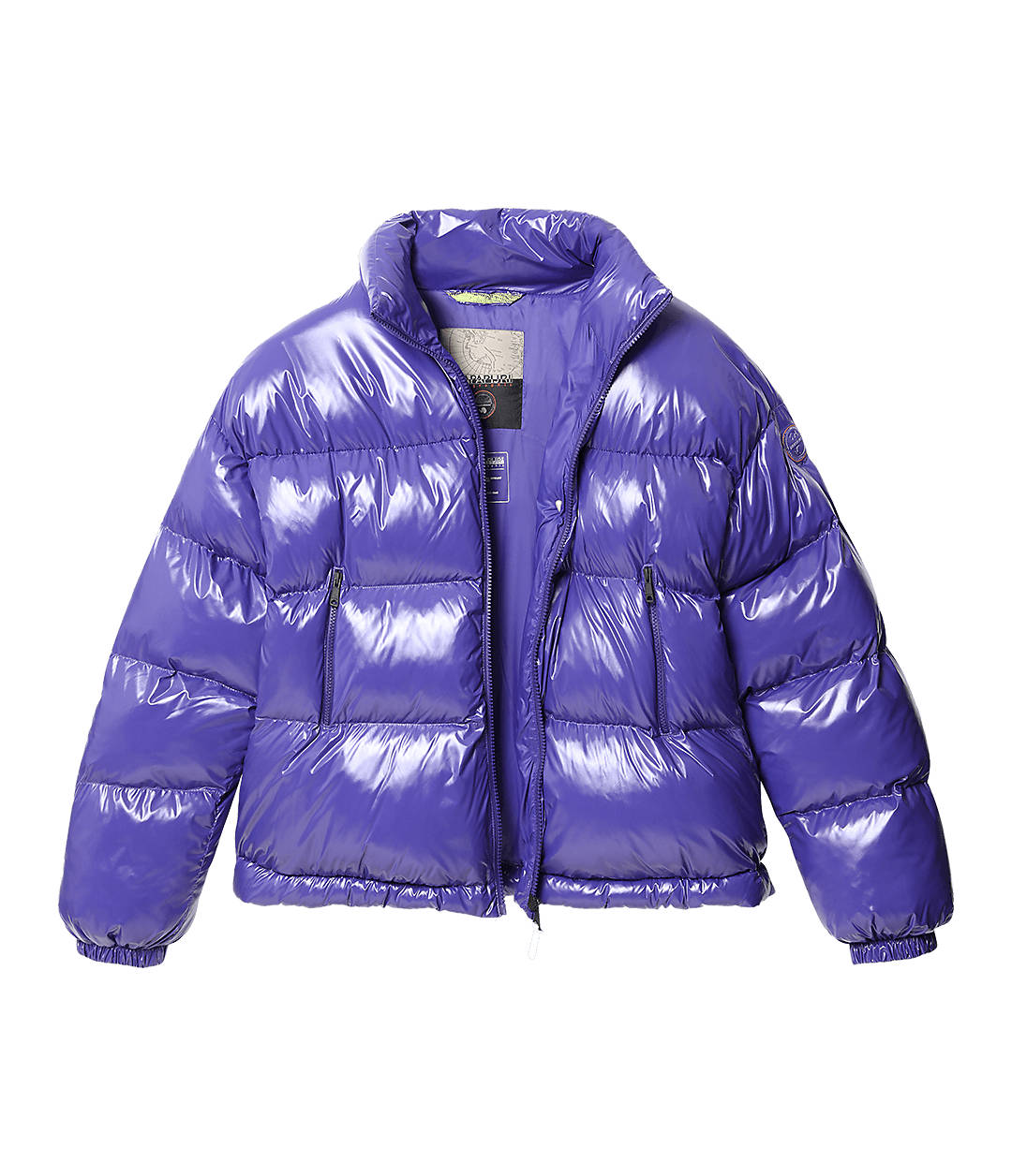 Superlight Puffer Jacket Art Shiny