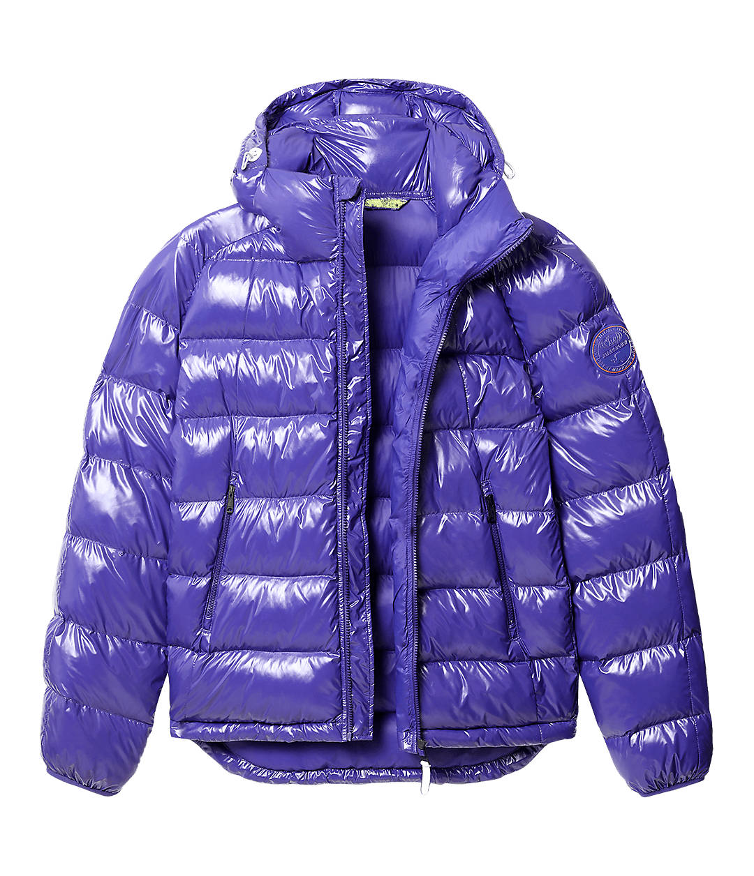 Puffer jacket Art Shiny