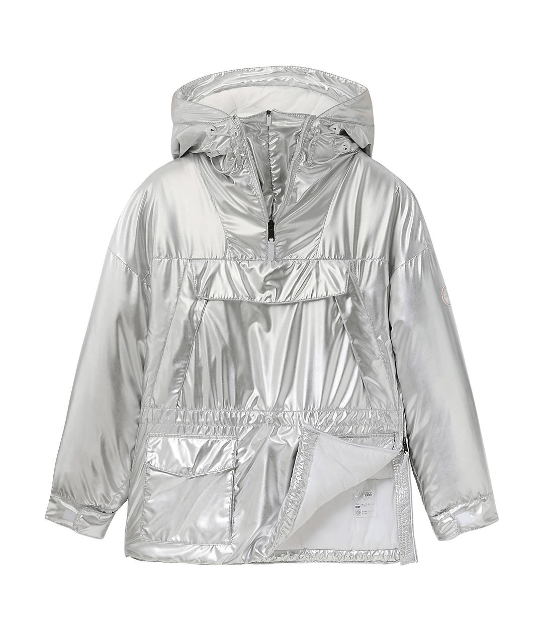Superlight Skidoo Anorak Metallic