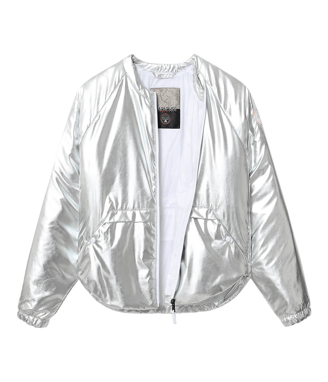 Superlight Short Jacket Adoy Metallic