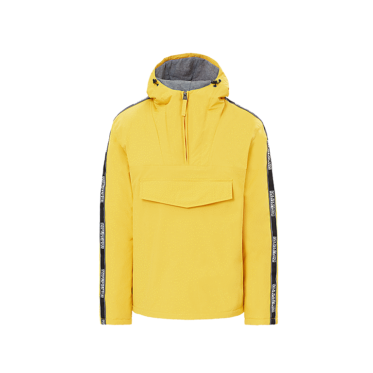 5ccbb471b52f1 Jacket Rainforest Tape Yellow Napapijri - 01