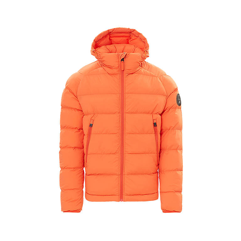 Puffer jacket Art Orange Napapijri - 03