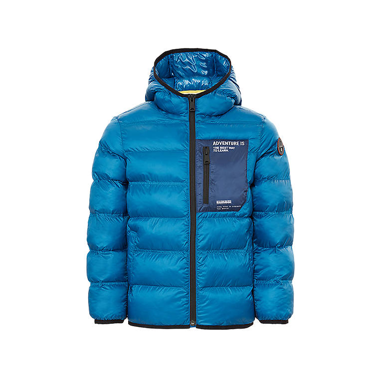 Puffer jacket Aedey Electric Blue Napapijri - 05
