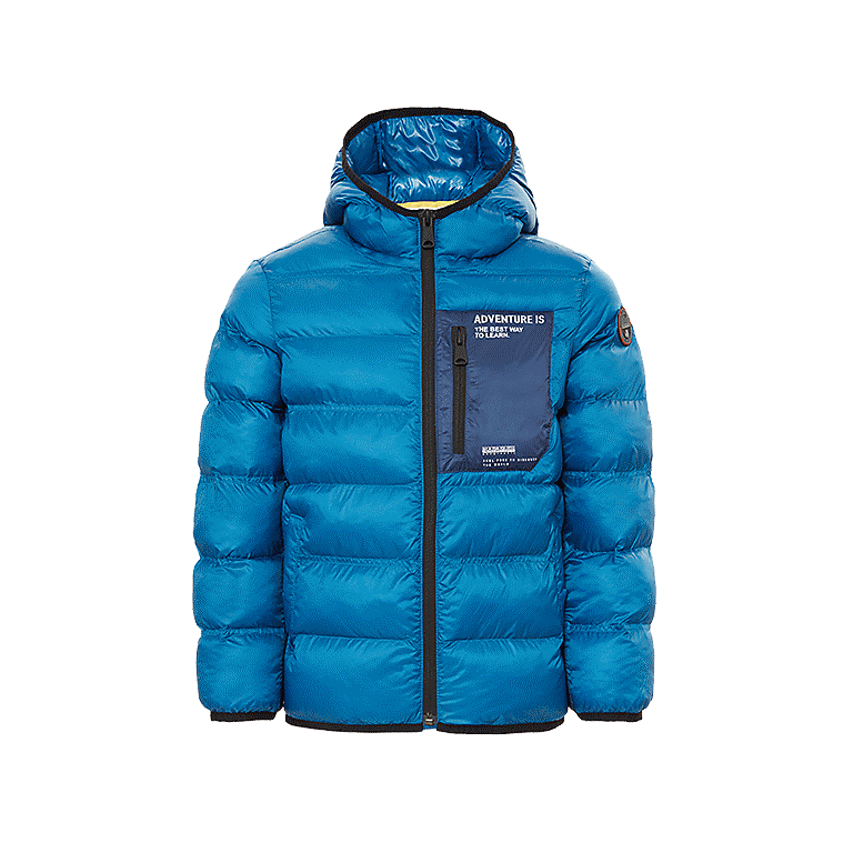 d7ec6012ab104 Puffer jacket Aedey Electric Blue Napapijri - 05